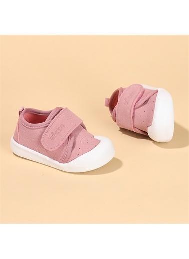 Vicco  950.E19K.224 Anka Kız/Erkek Bebek İlk Adım Ayakkabı Pudra